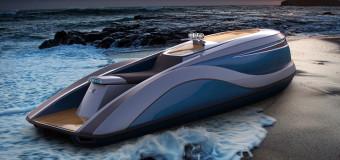 Невероятный дизайн гидроцикла будущего «Wet Rod»