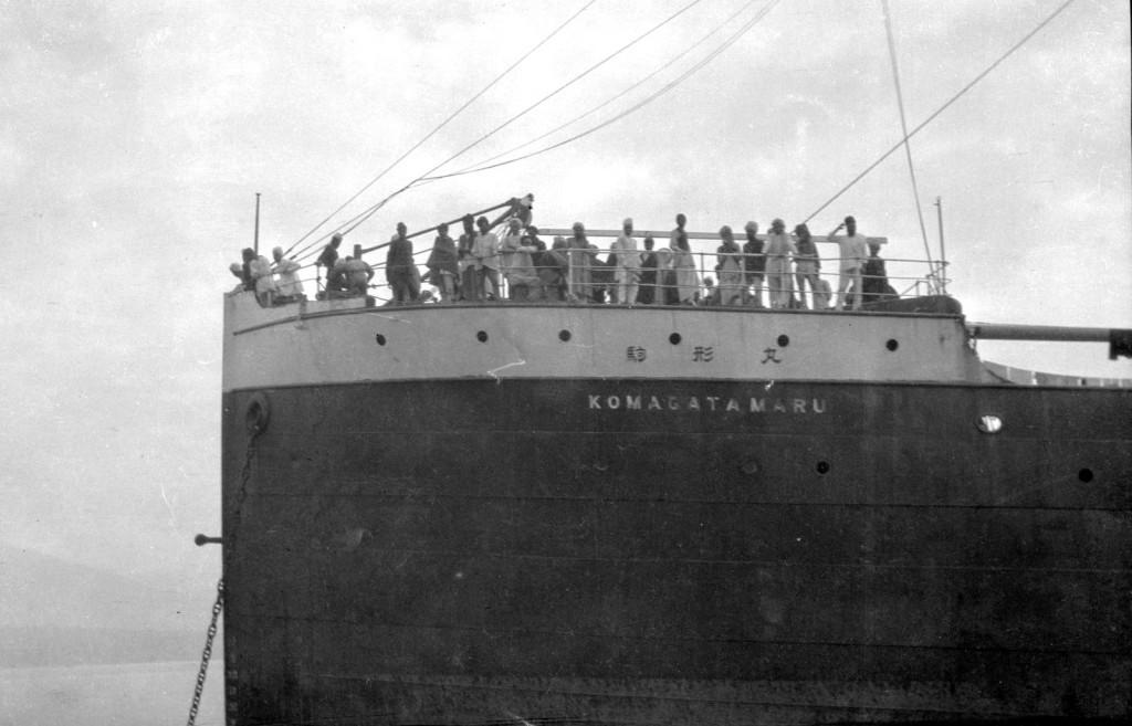 """Эмигранты на борту """"Komagata Maru"""", 1914 г."""