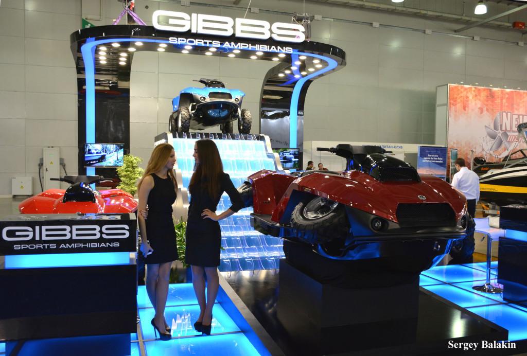Экспозиция компании GIBBS SPORTS AMPHIBIANS