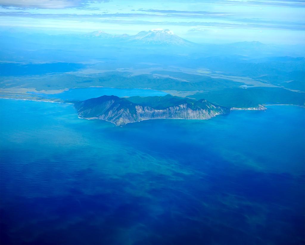 Командорские острова. тихий океан