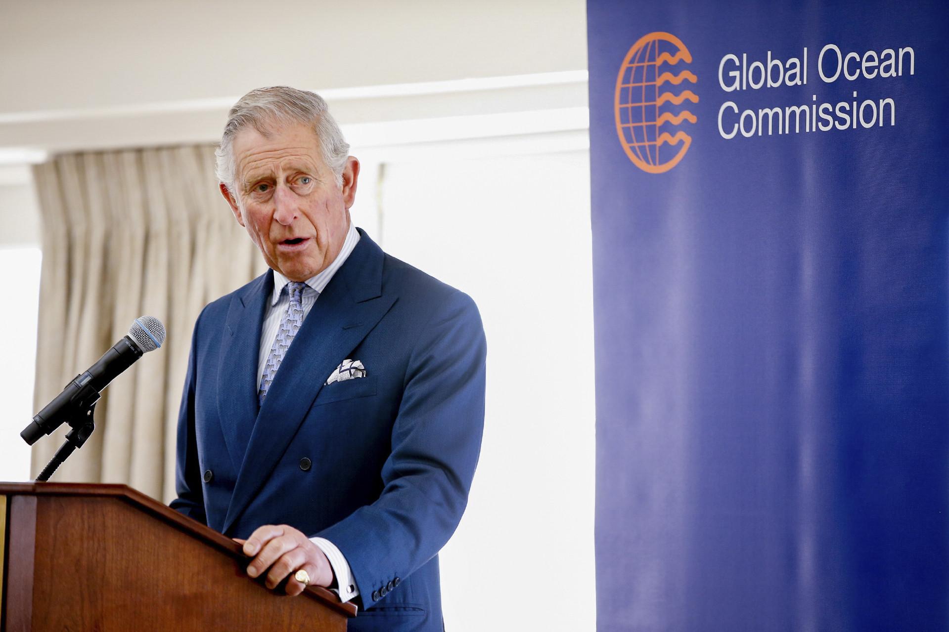 Принц Чарльз выступает на конференции 18 марта
