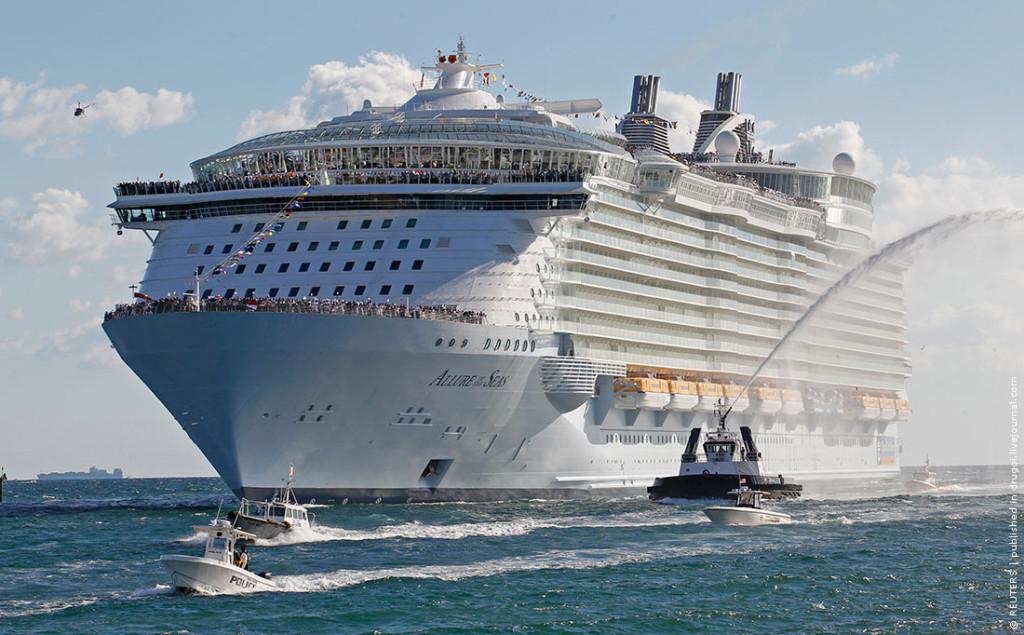 Мегалайнер «Allure of the Seas»