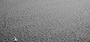 Белеет парус…  в океане
