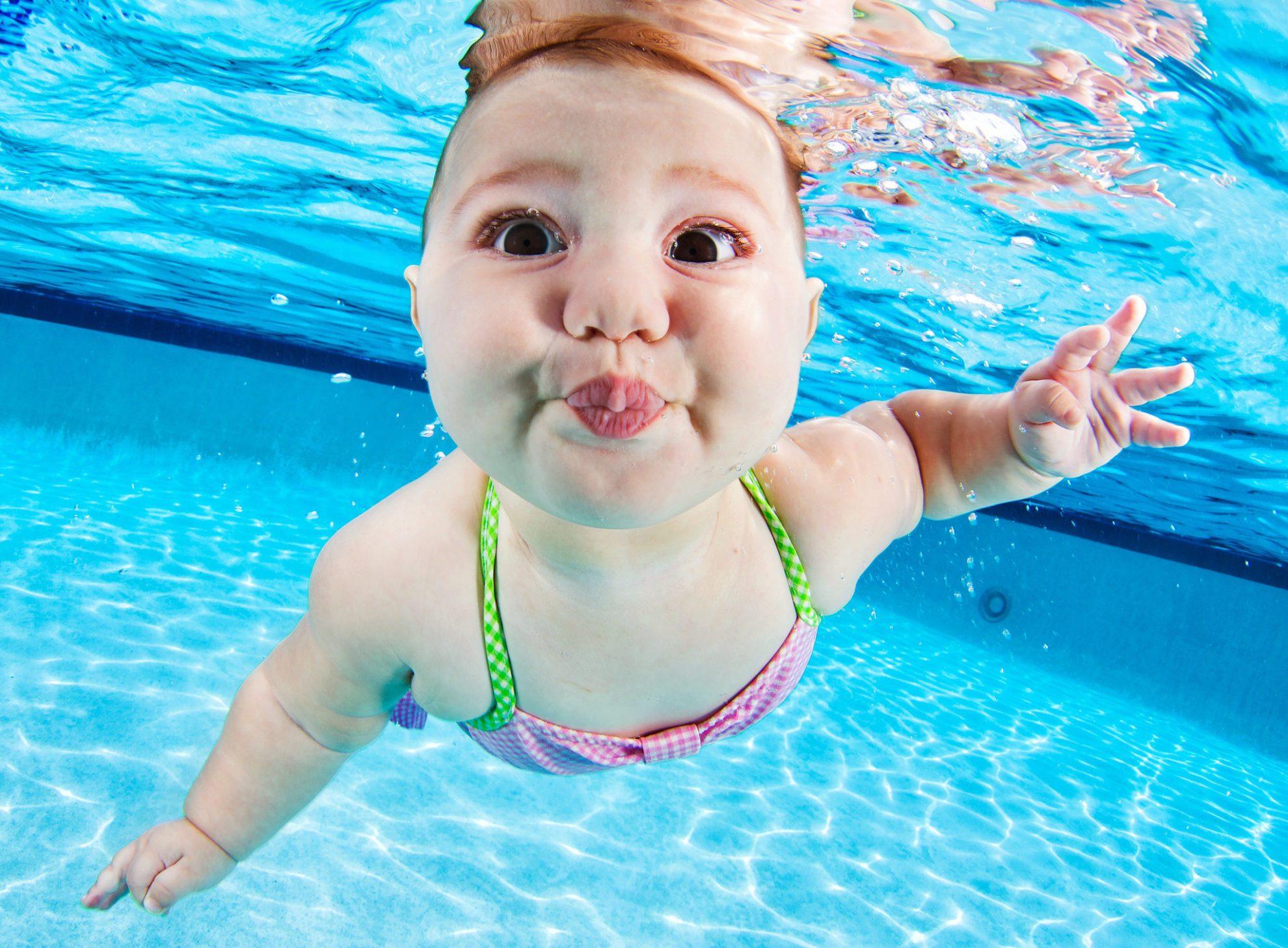 Seth Casteel.  Дети под водой.