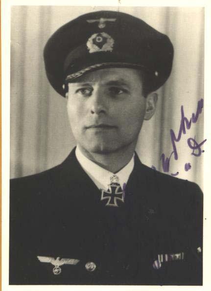 Капитан подводной лодки Карл-Фридрих Мертен