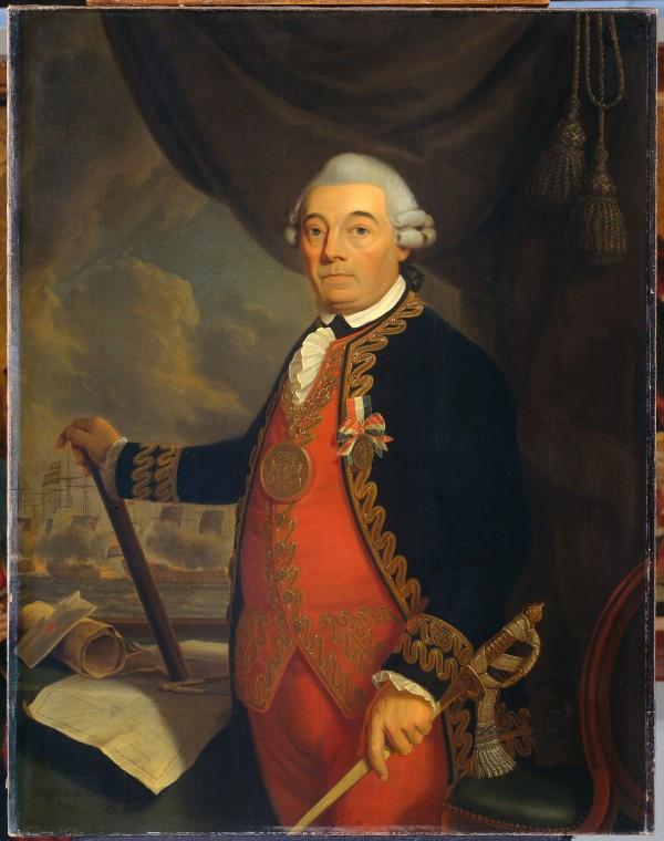 Якоа Роггевен.  январь (1659 -1729) Холст. Масло. Ccornelis Van Ijohan-arnold