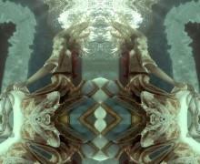 Подводный видео арт..