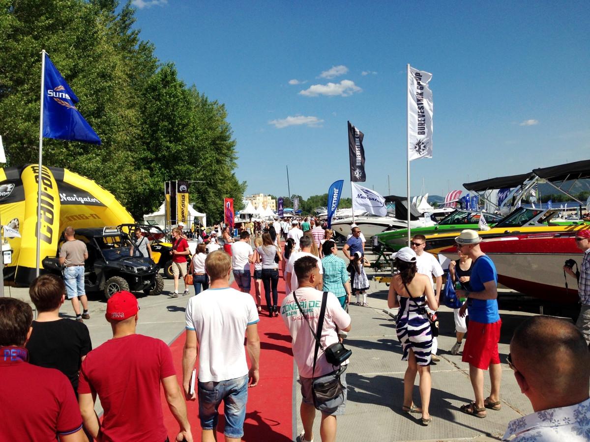 Volga Boat Show 2015 Тольятти
