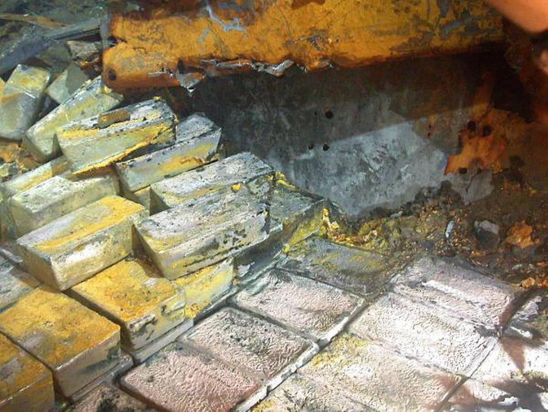 Слитки золота перевозимые «SS Gairsoppa»