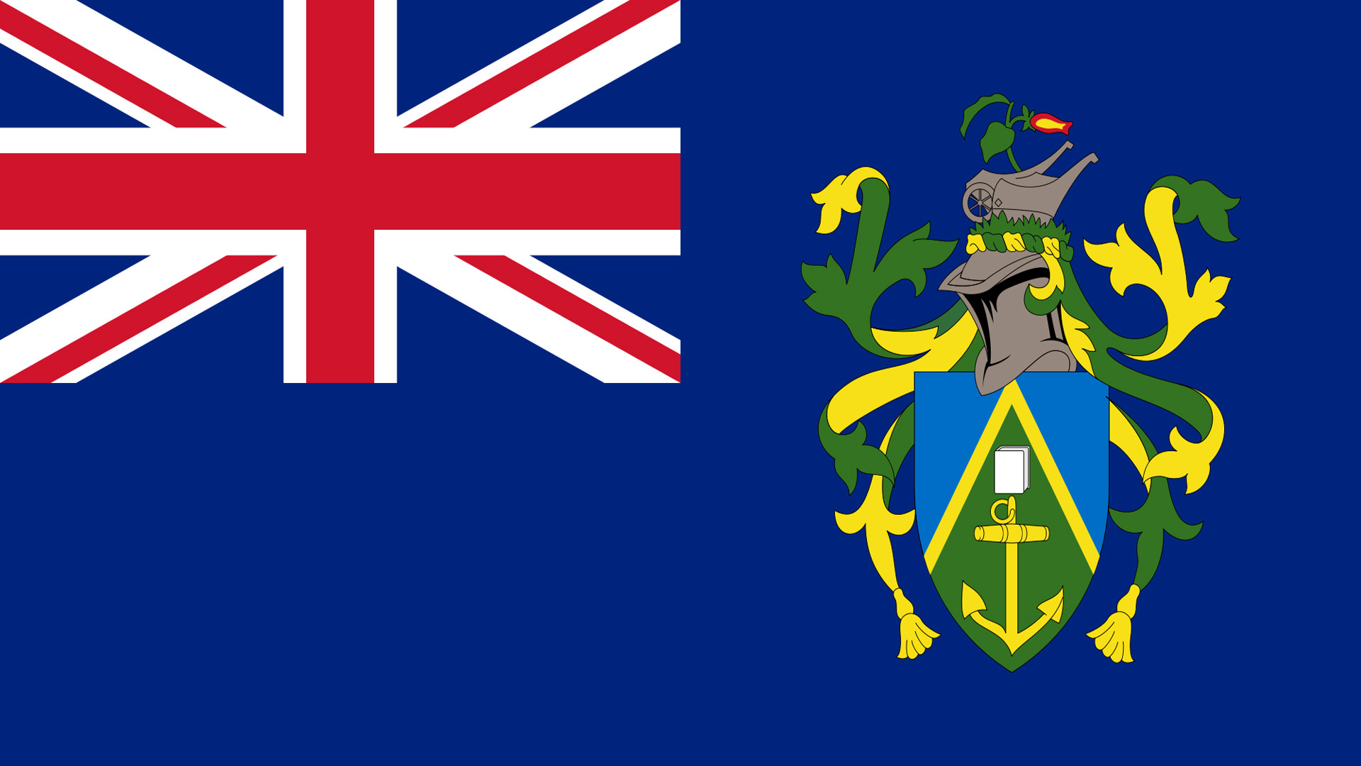 Флаг Британских заморских территорий