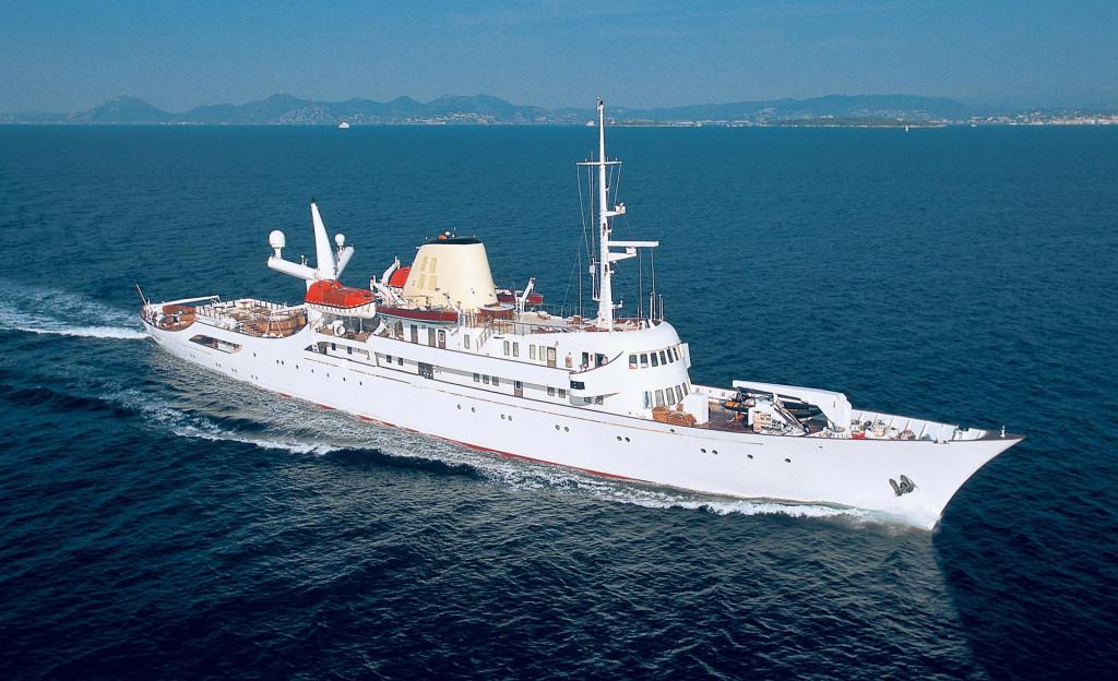 Яхта «Christina O», в прошлом – просто «Christina»