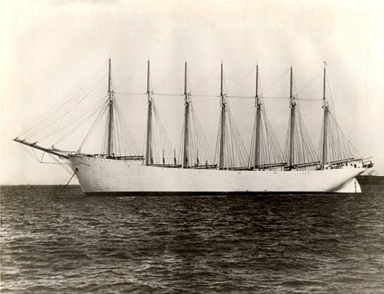 «Thomas W.Lawson» в балласте