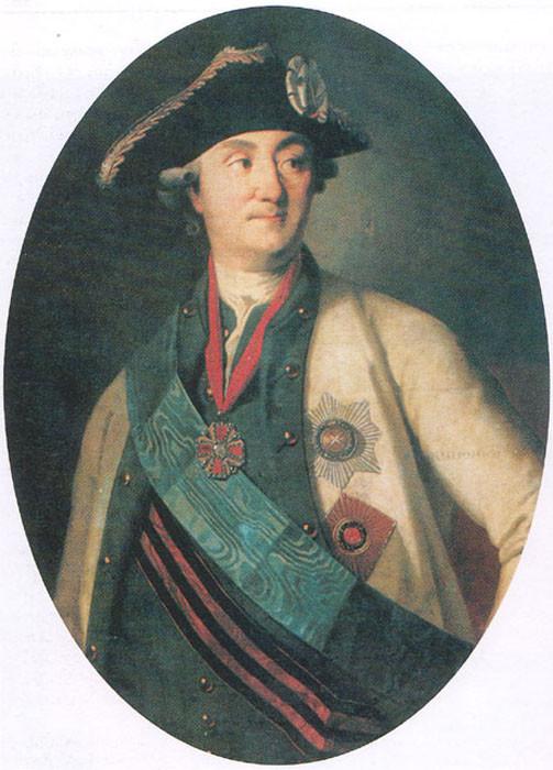 Генерал-аншеф граф Алексей Орлов