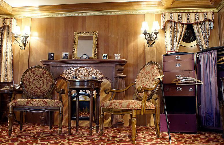 Интерьеры Титаника фотография с выставке в Москве