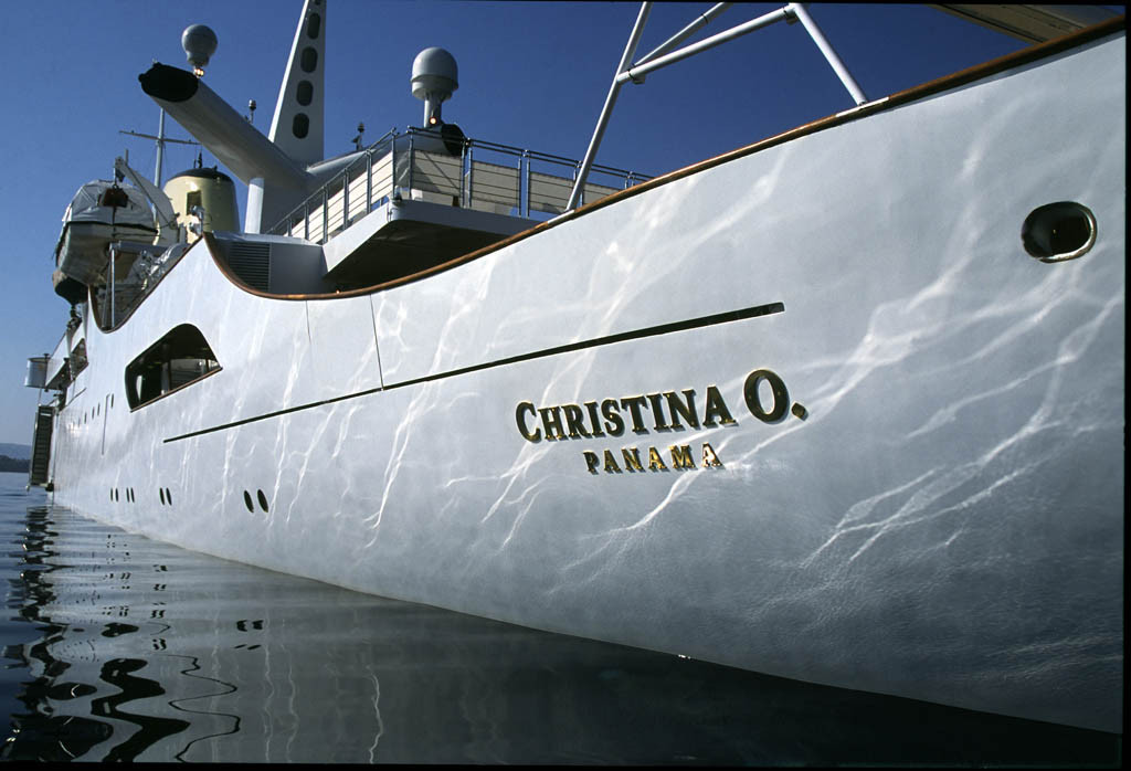 Портом приписки яхты «Christina O» ныне является Панама