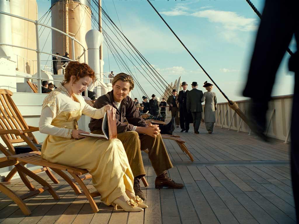 "Кадр из фильма ""Титаник"""