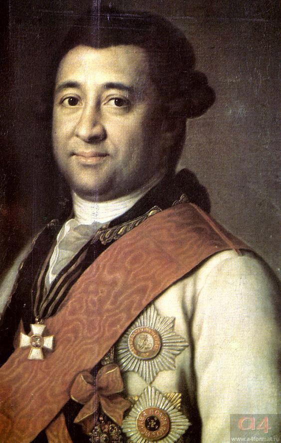 Генерал И.А.Ганнибал