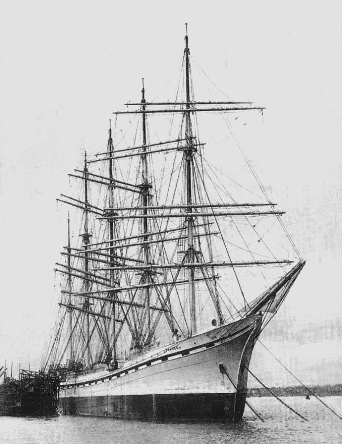Пятимачтовый барк «France II».