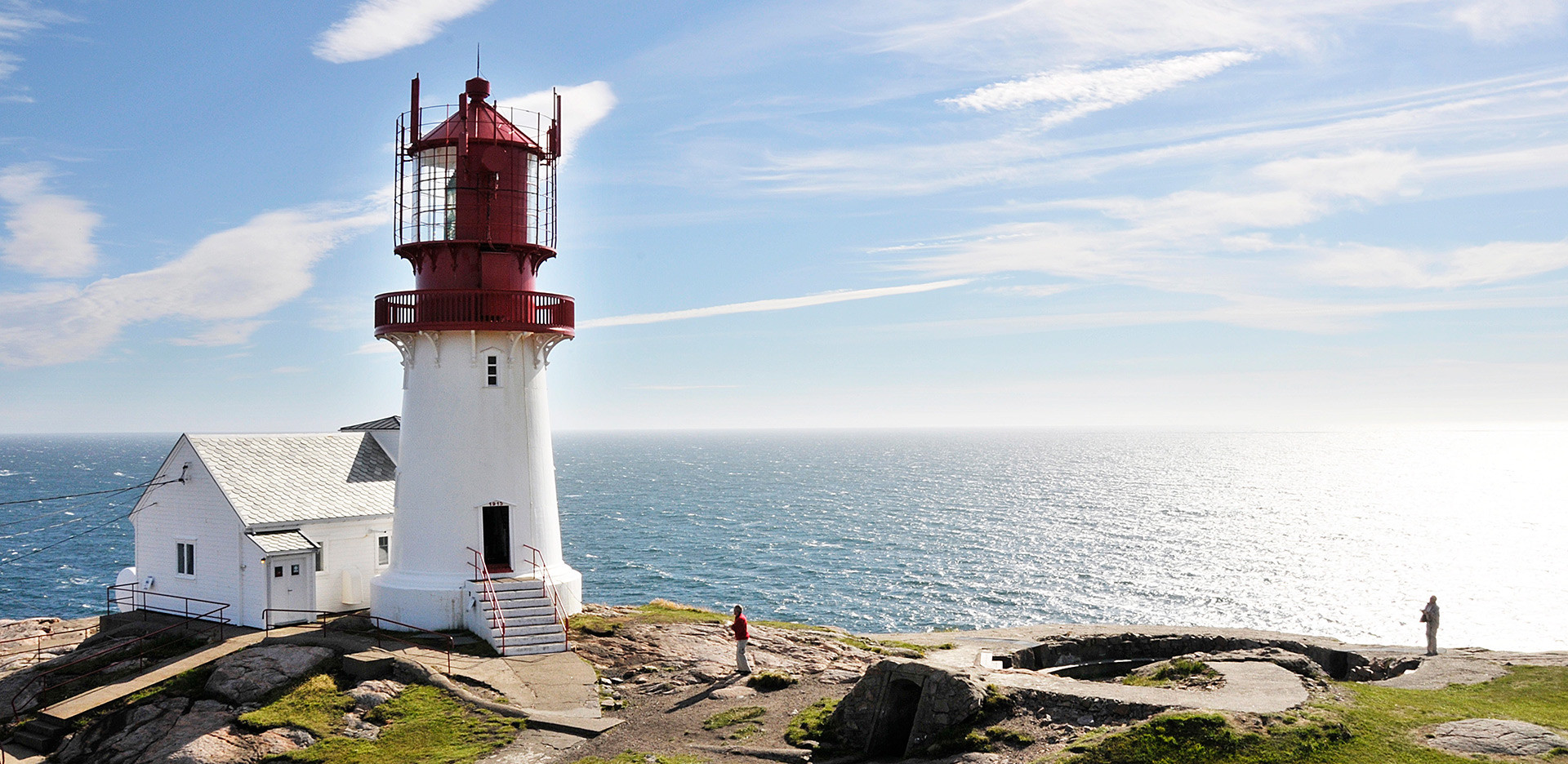 Маяк Линдеснес – старейший маяк Норвегии