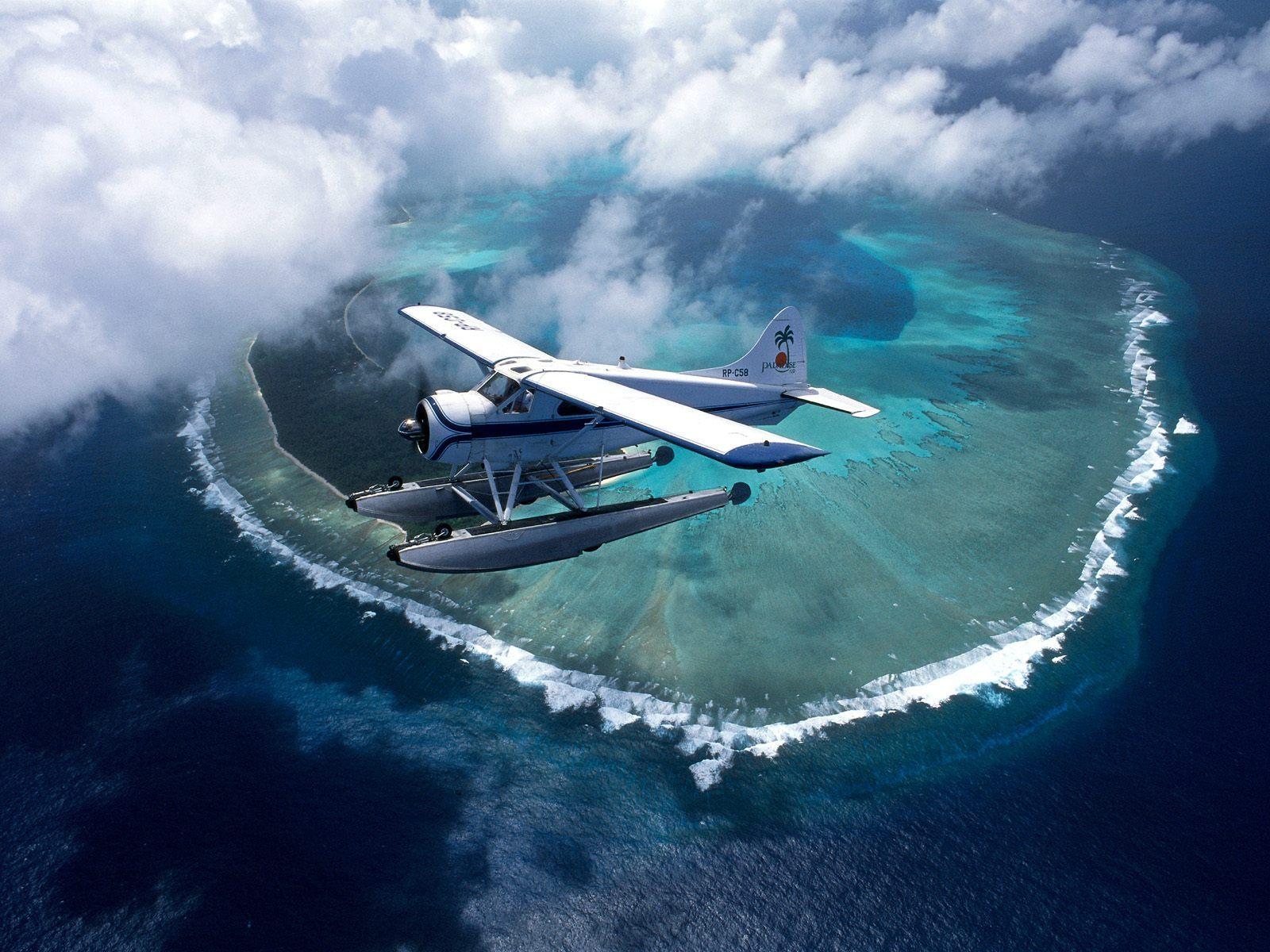 Полет над островами Палау