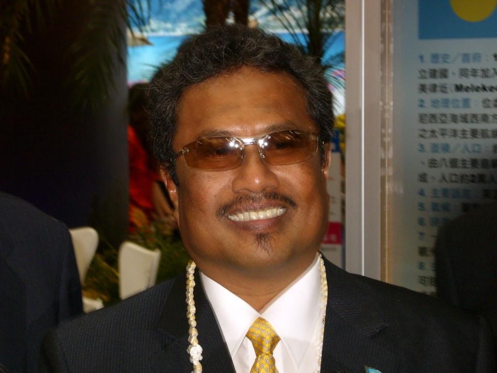 Президент  Палау Томми Ременгесау-младший