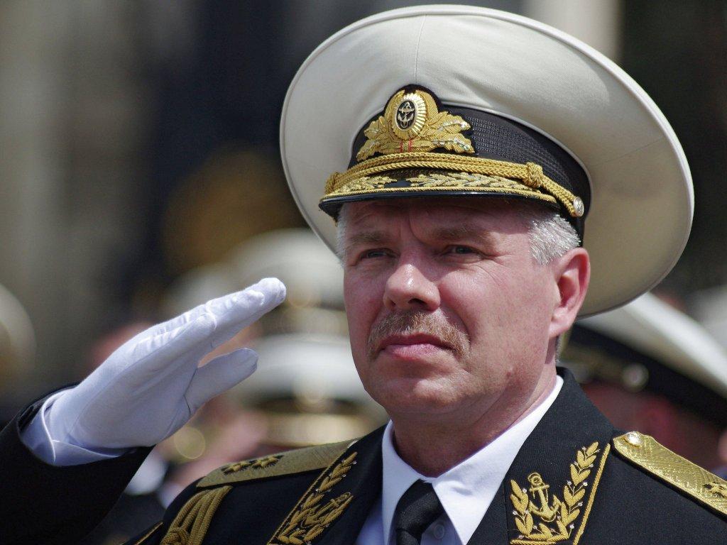 Вице-адмирал Валерий Куликов.