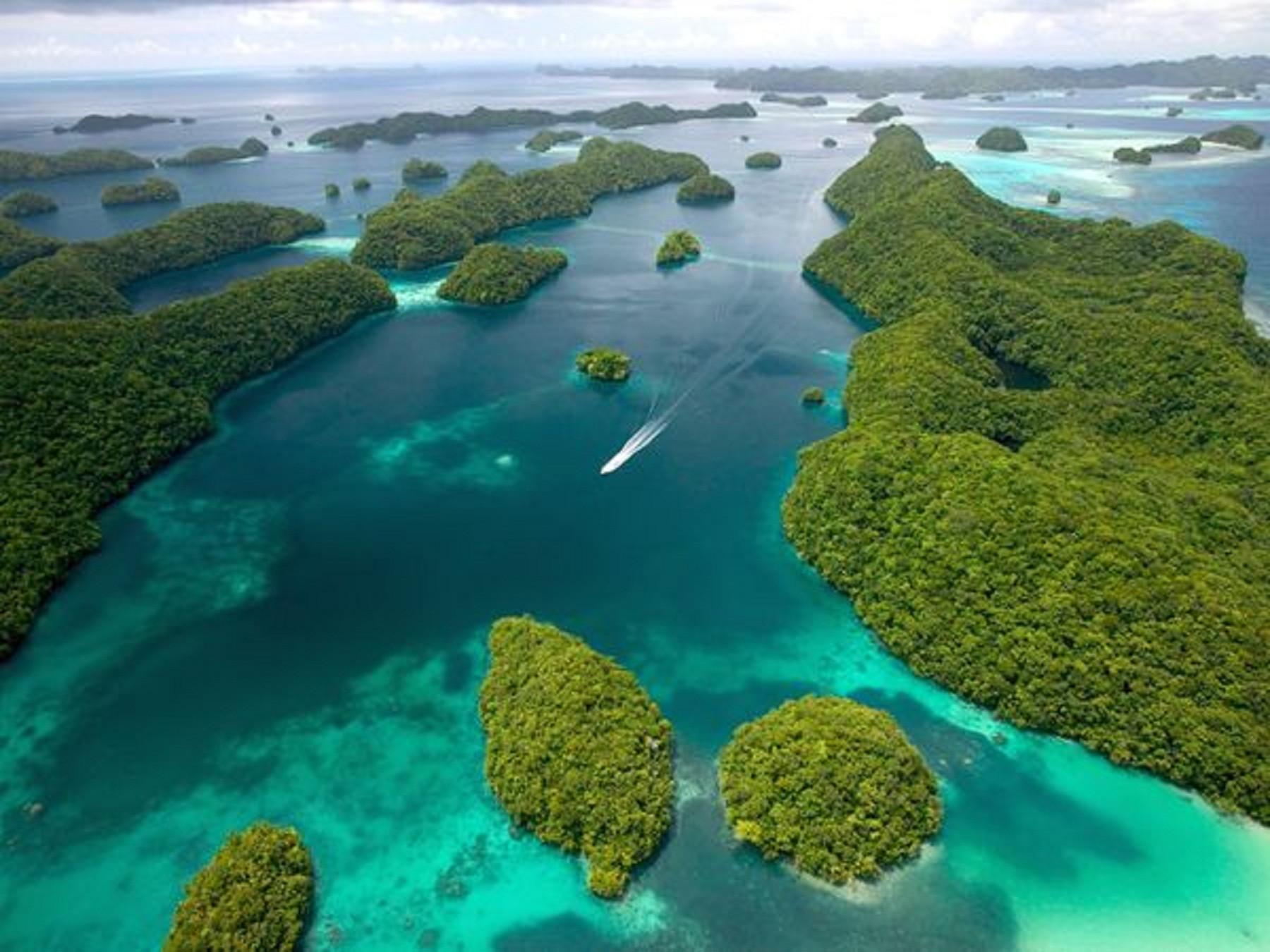 Острова Палау уникальны