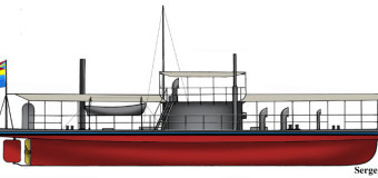 Броненосная галера шведского флота
