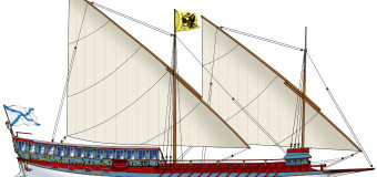 Галера «Тверь» – яхта императрицы