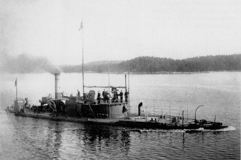 Броненосная канонерка «Герда» - одна из серии кораблей типа «Хильдур»