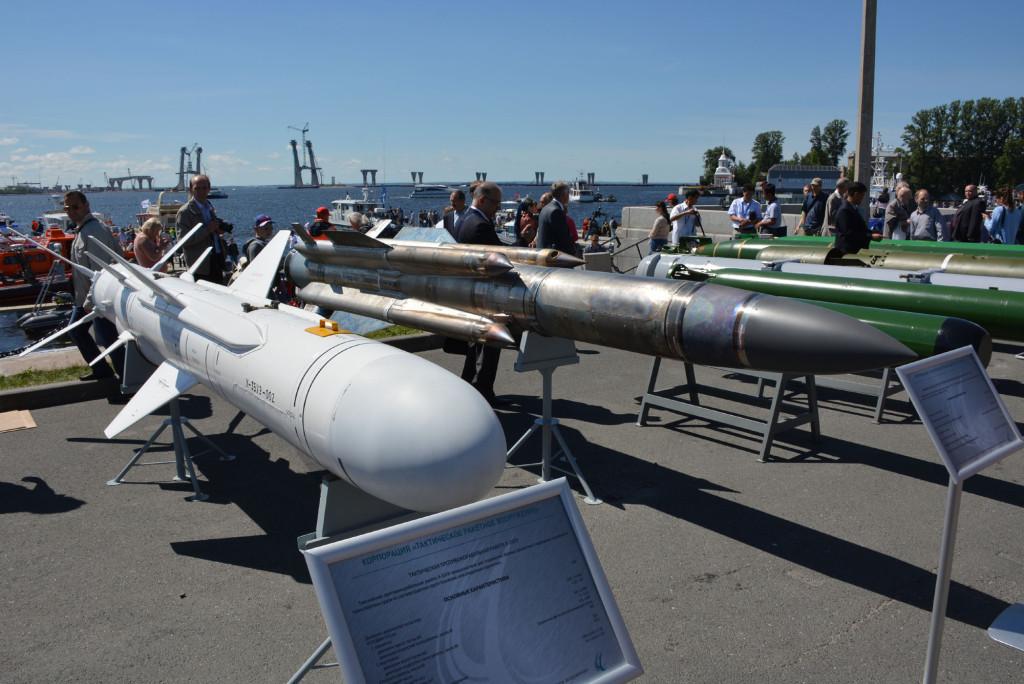 Натурные образцы ракетного и торпедного оружия