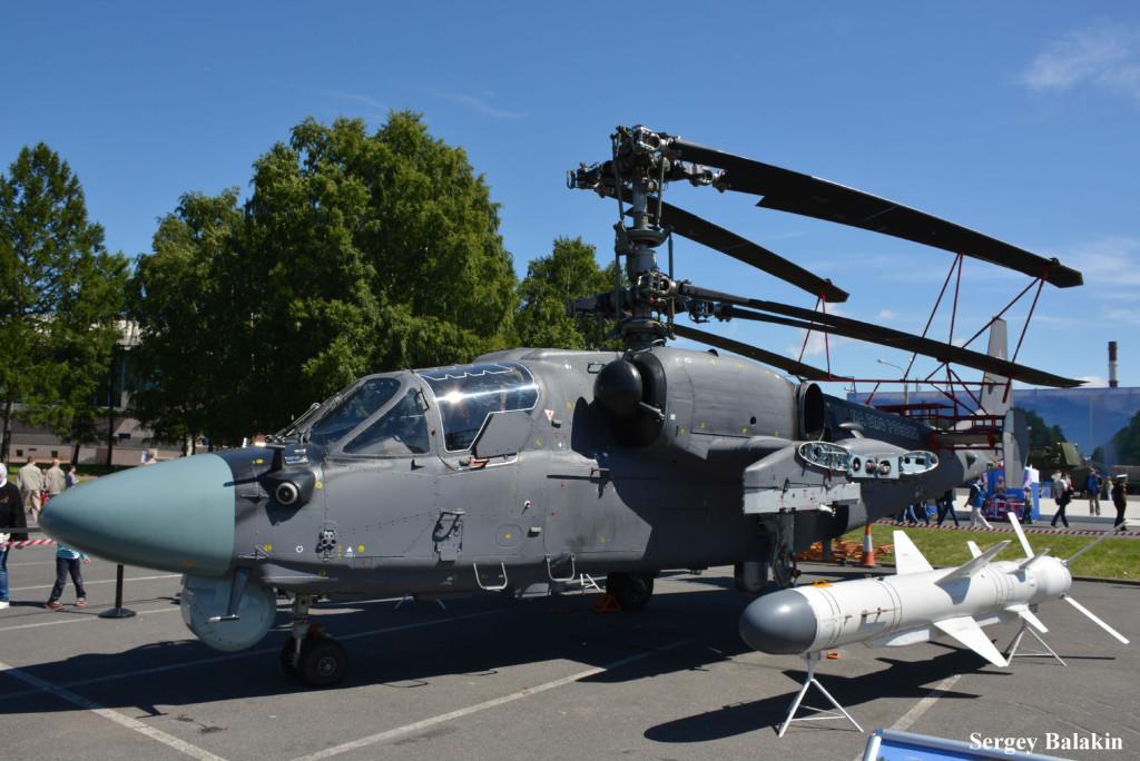 Боевой вертолёт корабельного базирования Ка-52К – модификация сухопутного Ка-52 «Аллигатор»