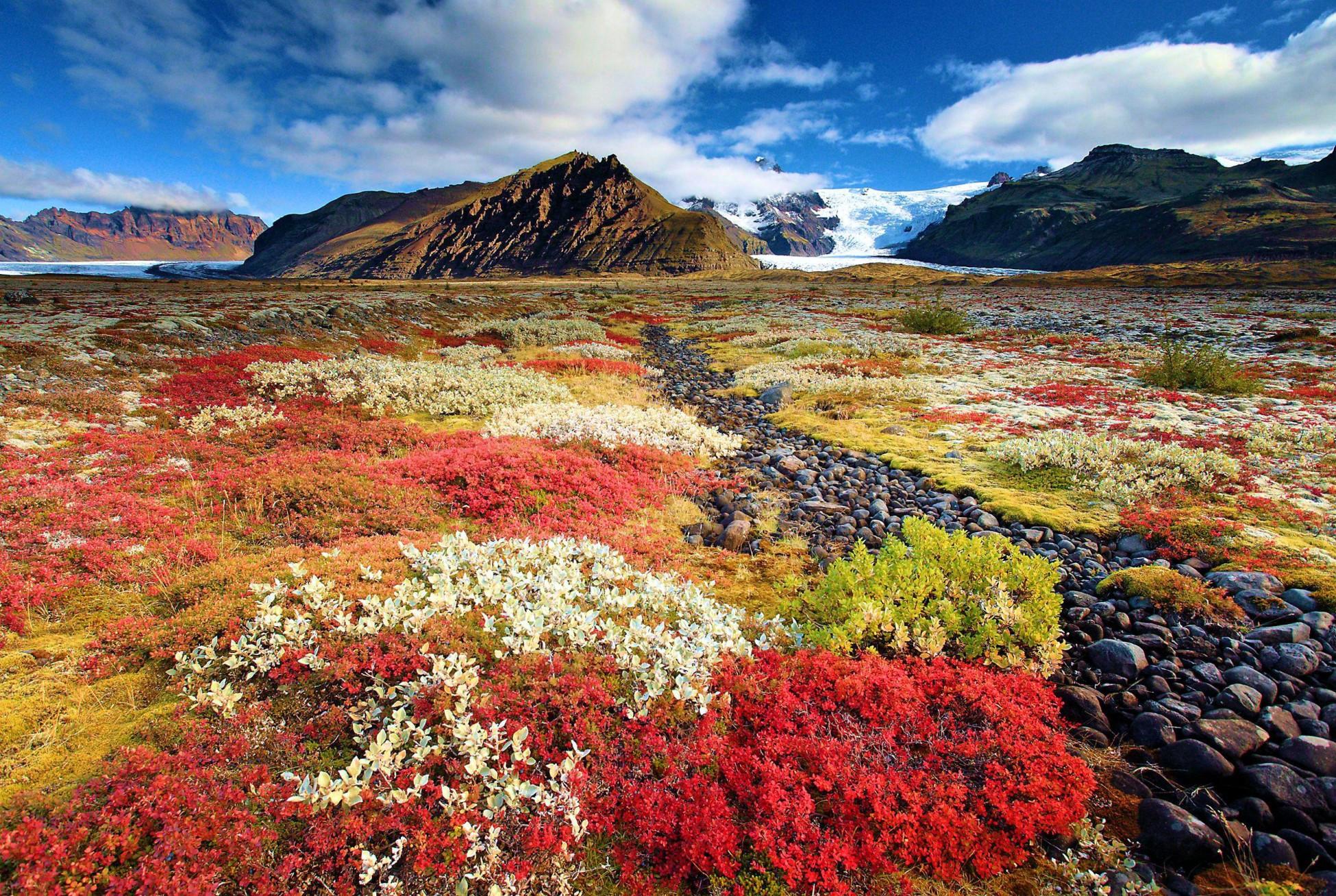 Осенние пейзажи Исландии, ну разве это не чудо природы?