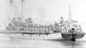 Shallop_gunboat_Gunboat_War_1810