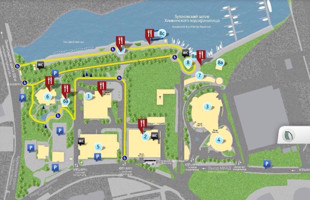 Схема Кантри-парка