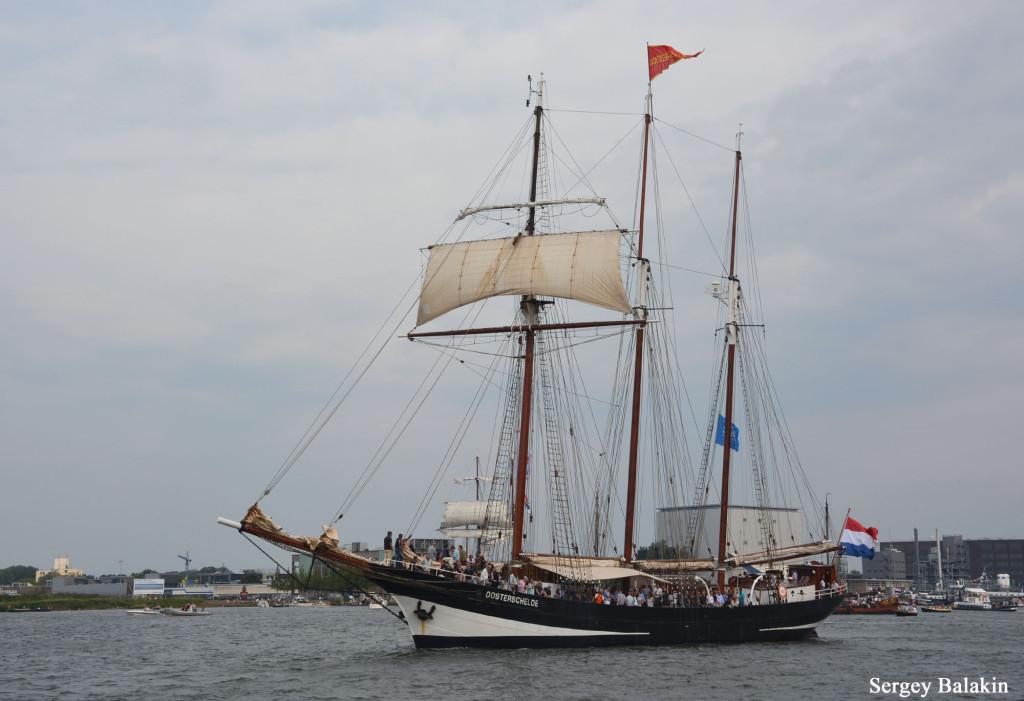 Голландская шхуна «Oosterschelde»