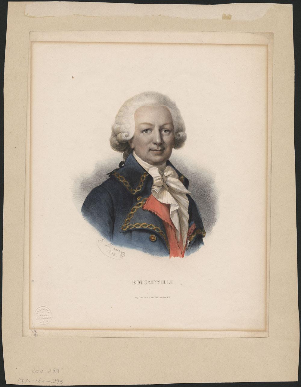 Луи Антуан граф де Бугенвиль