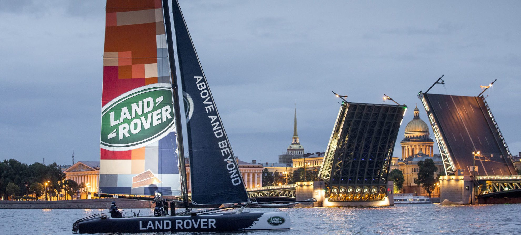 The Extreme Sailing Series 2014. Act4. St Petersburg. Russia Please Credit: Lloyd Images