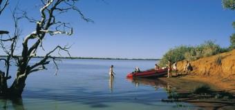 Озеро Эйр: природное шоу