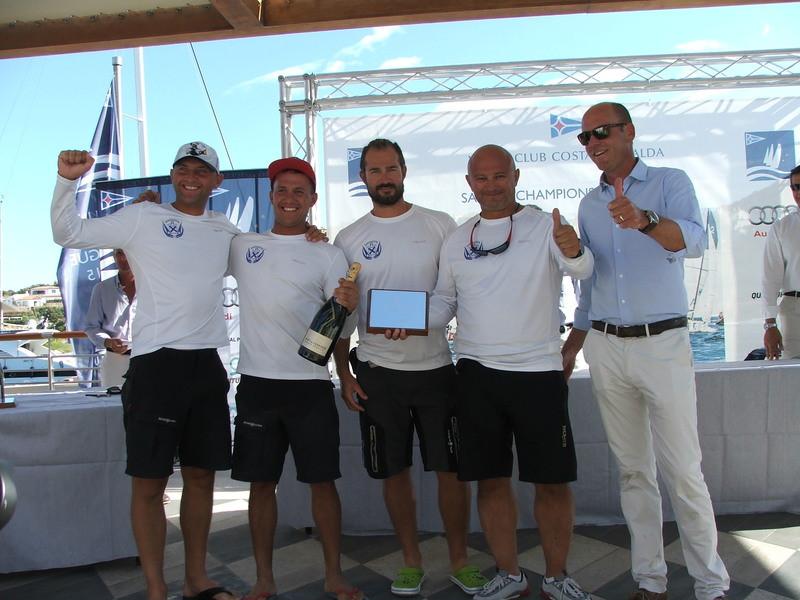 Navigator Sailing Team. Награждение