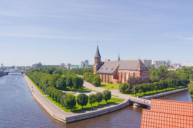 Современный Калининград - смешение архитектуры и религий