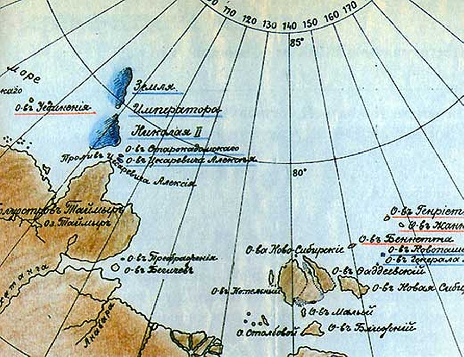 карта вилькицкий