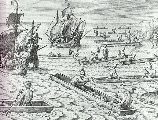У берегов Чили произошли первые стычки с испанцами. Фото: www.my-article.net
