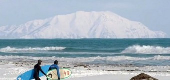Серфинг в России: Черное море. Весна