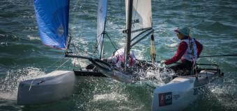 Чемпионат России в Олимпийских классах яхт. Результаты первого дня