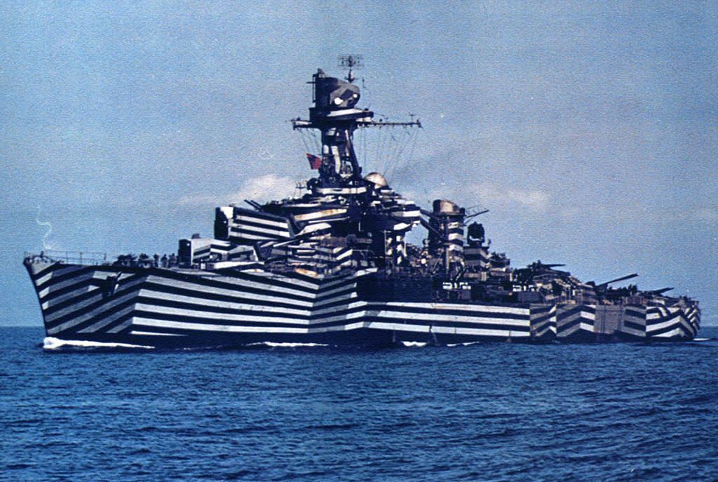Французский лёгкий крейсер «Gloire» - то ли зебра, то ли тельняшка в заплатах…