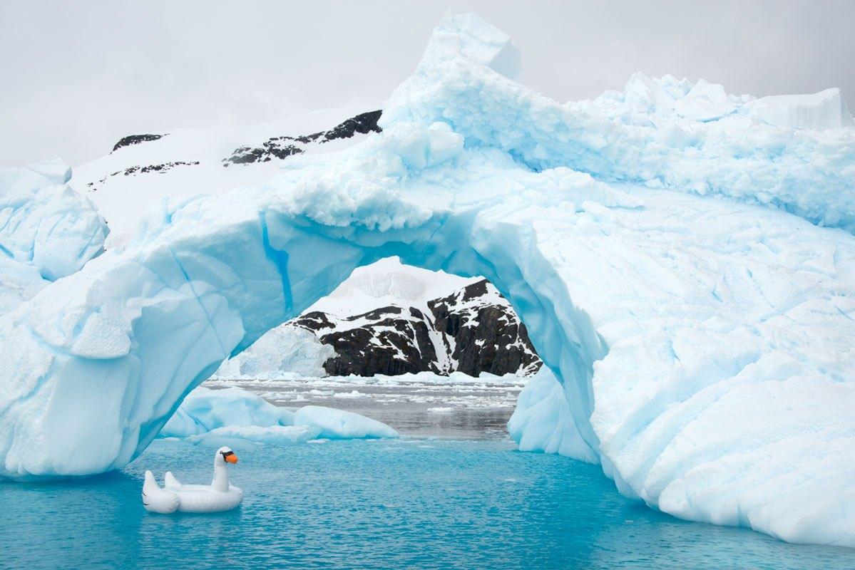 Gray Malin. Swan Ice-Bridge
