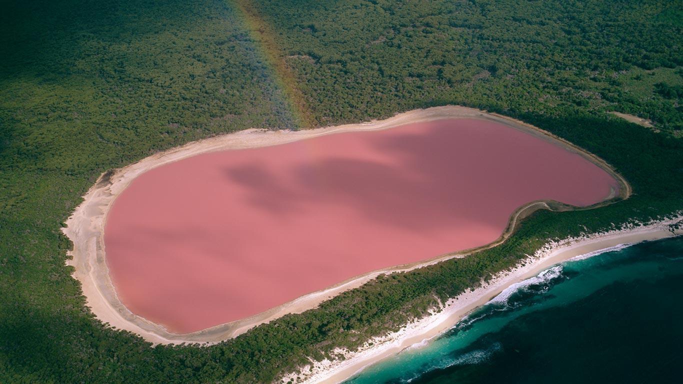 Розовое озеро Ретба. Сенегал