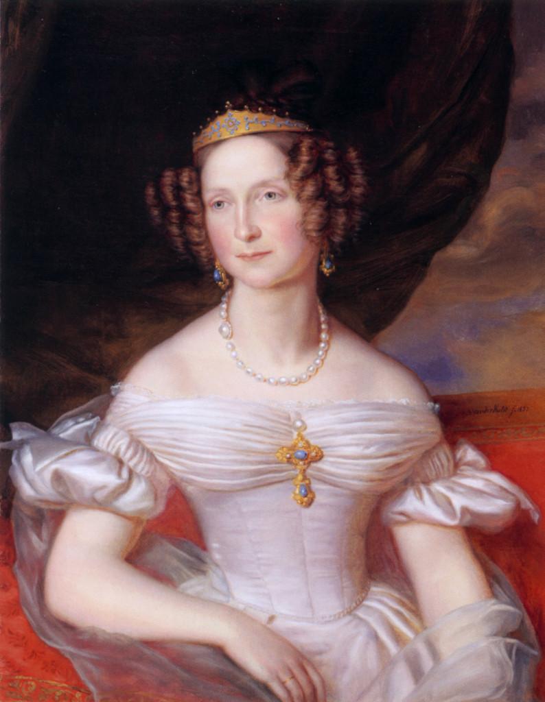 Анна Павловна, портрет 1837 г.