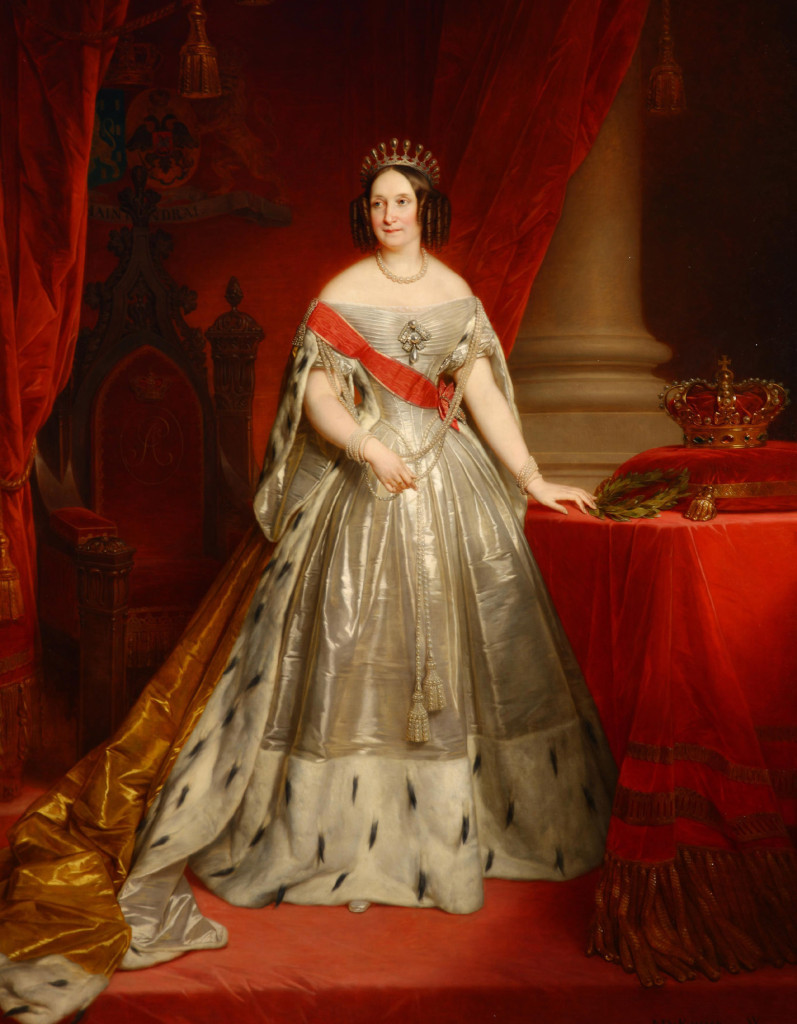 Королева Нидерландов Анна Павловна, 1849 г.